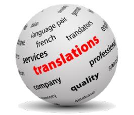 Traduzioni da e in inglese